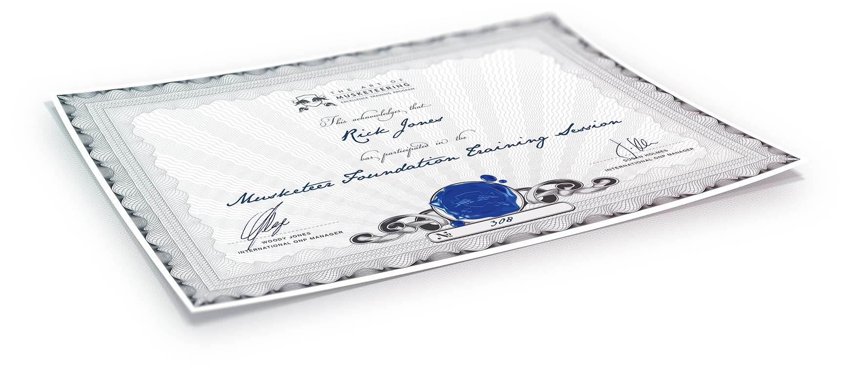 AOM Certificate