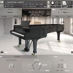 MNDN e-instruments Session Keys Grand S 01 Piano
