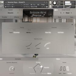 MNDN e-instruments Session Keys Grand S 03 Settings