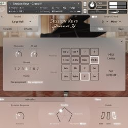 MNDN e-instruments Session Keys Grand Y 02 Pads