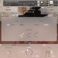 MNDN e-instruments Session Keys Grand Y 03 Settings