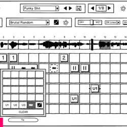 MNDN Sugar Bytes Looperator GUI Design Process Wireframing