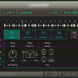 MNDN Sugar Bytes Looperator GUI Design Process User Settings