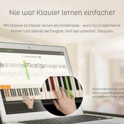 Skoove Website GUI Landing Page UI Design Shot