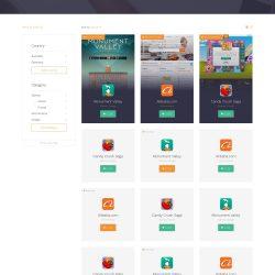 MNDN Voltu UI Design Campaign Grid