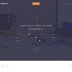 MNDN Voltu UI Design Onboarding Sliders